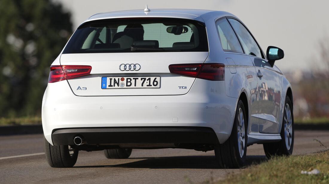 Audi A3 1.6 TDI Ultra,  Heckansicht