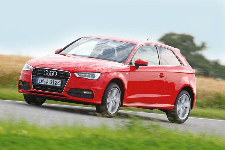 Audi A3 1.8 TFSI, Seitenansicht