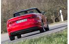 Audi A3 Cabrio 1.8 TFSI, Heckansicht