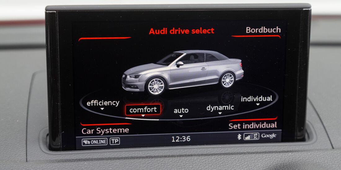 Audi A3 Cabrio 1.8 TFSI, Infotainment, Display