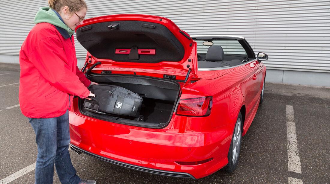 Audi A3 Cabrio 1.8 TFSI, Kofferraum