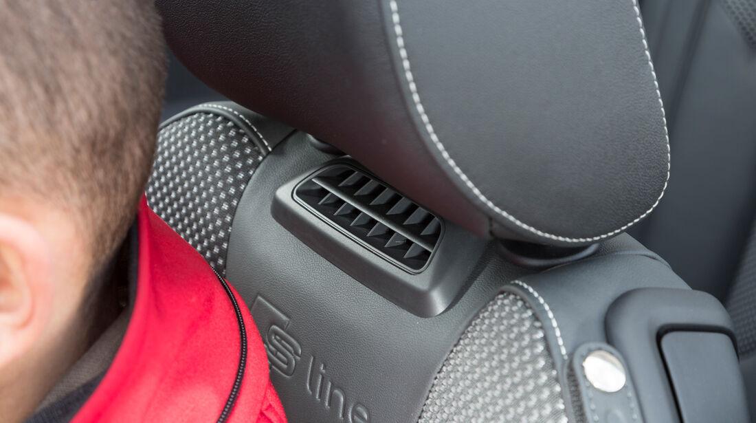 Audi A3 Cabrio 1.8 TFSI, Nackenfön