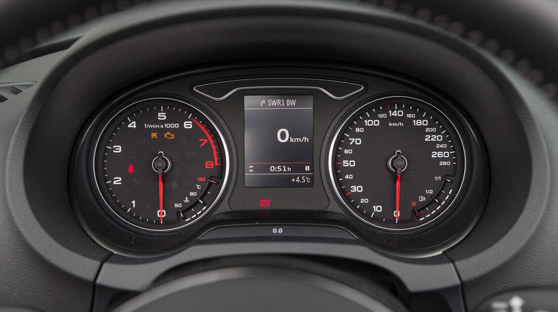 Audi A3 Cabrio 1.8 TFSI, Rundinstrumente