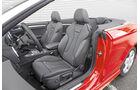 Audi A3 Cabrio, Fahrersitz