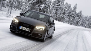 Audi A3, Erprobungsfahrt