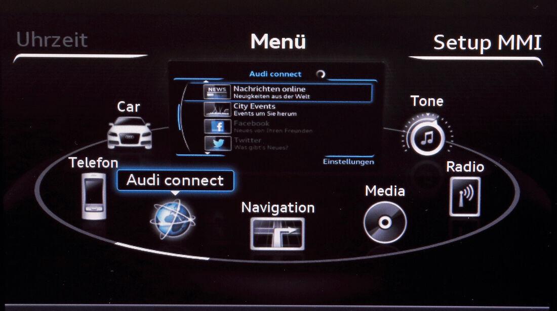 Audi A3, Navigation, Display