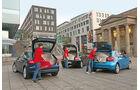 Audi A3 Sportback 1.4 TFSI, BMW 116i, Mercedes A 180, Heckklappe