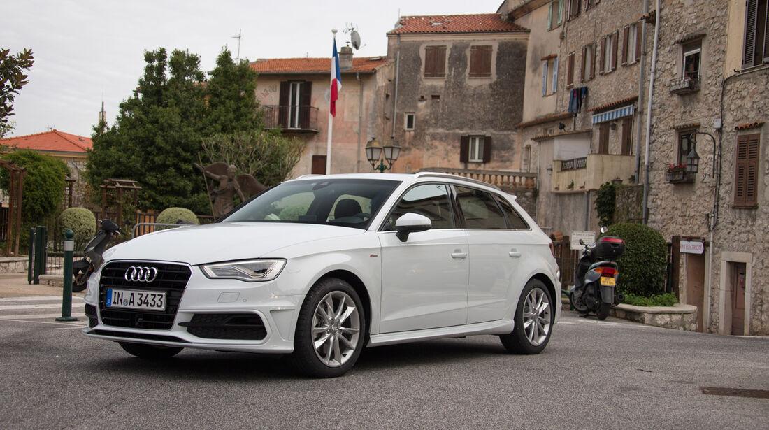 Audi A3 Sportback, Frontansicht