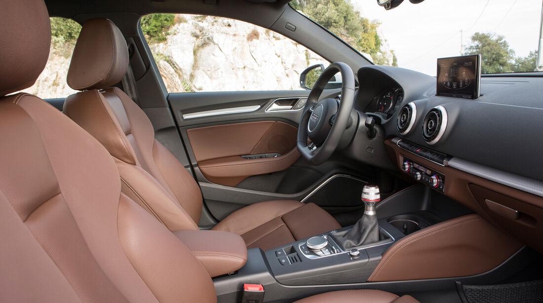 Audi A3 Sportback, Mittelkonsole, Innenraum