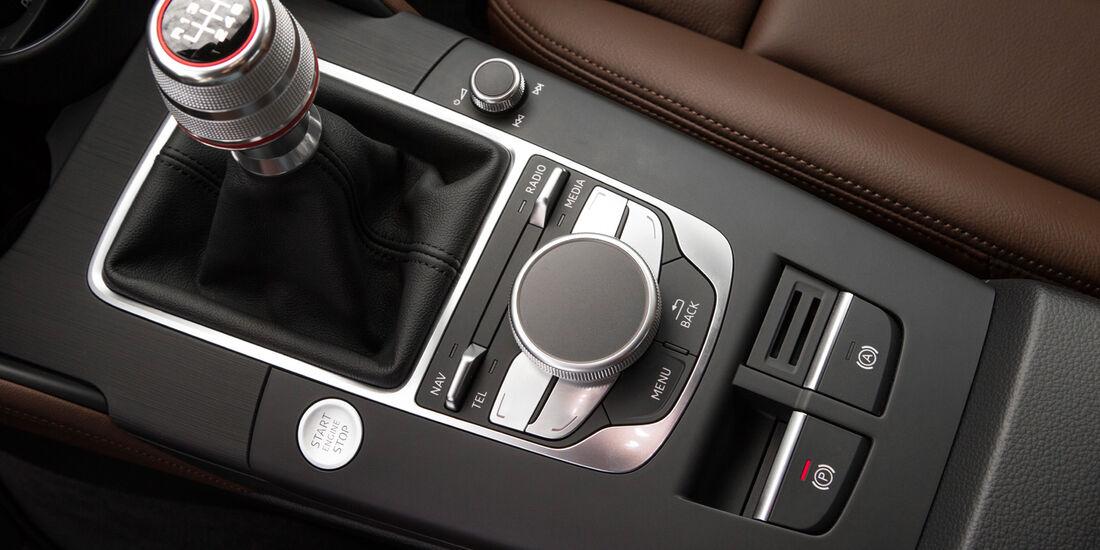 Audi A3 Sportback, Schalthebel, Schalknauf