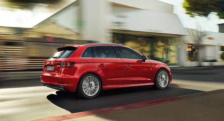 Audi A3 Sportback e-tron, Ladekabel, Ladeanschluss