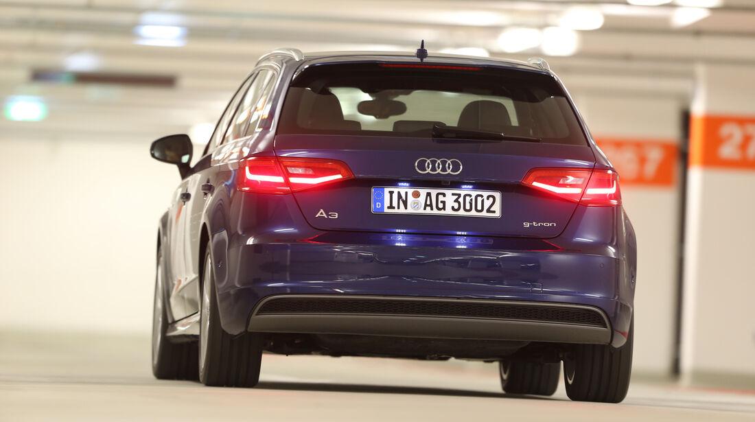 Audi A3 Sportback g-tron, Heckansicht