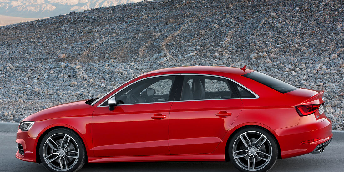 Audi A3 Stufenheck, Seitenansicht