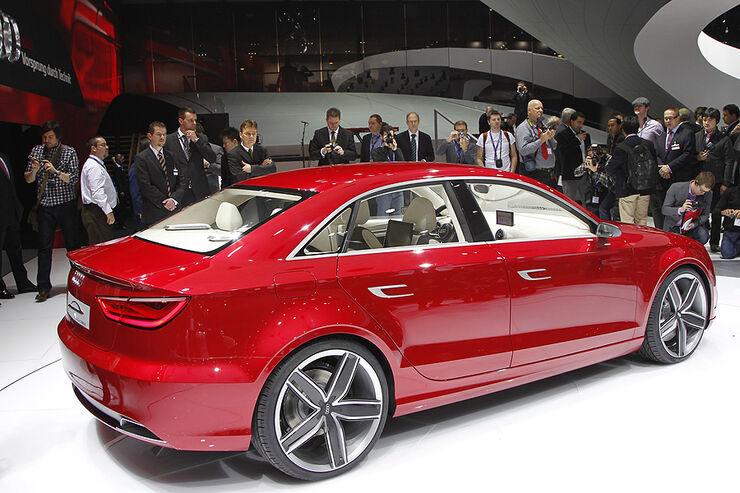 audi a3 concept das ist die neue a3 stufenheck limousine auto motor und sport. Black Bedroom Furniture Sets. Home Design Ideas