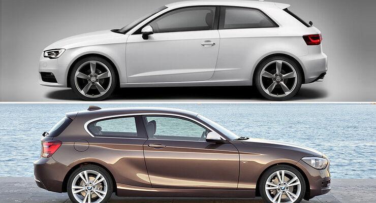 Audi A3 vs BMW 1er