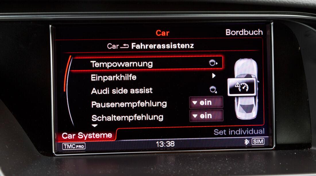Audi A4 1.8 TFSI, Bildschirm, Programm