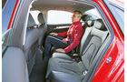 Audi A4 1.8 TFSI, Fondsitz, Beinfreiheit
