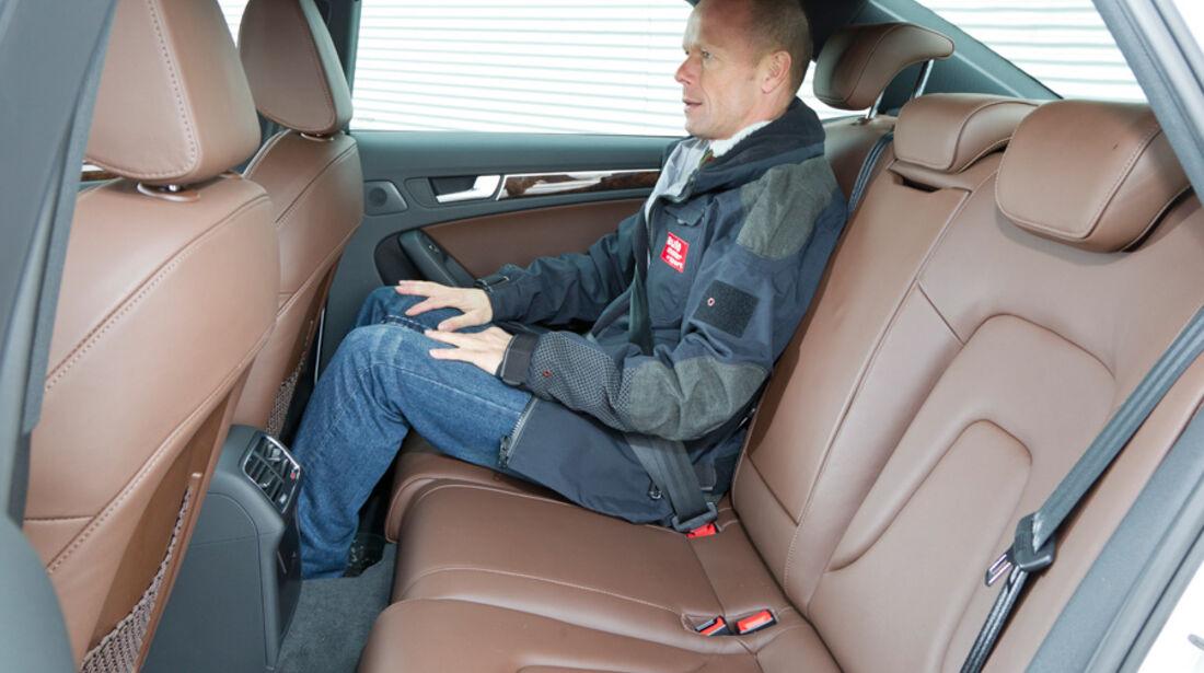 Audi A4 1.8 TFSI, Rückbank, Rücksitz