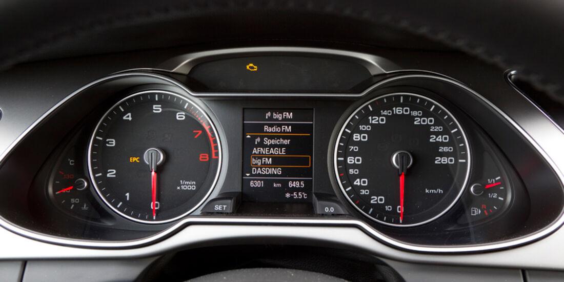 Audi A4 1.8 TFSI, Rundinstrumente