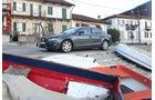 Audi A4 2.0 TDI, Stadt, Seitenansicht, Boote