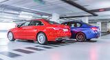 Audi A4 3.0 TDI Quattro, BMW 330d, Seitenansicht