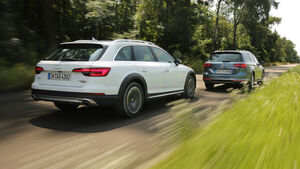 Audi A4 Allroad Quattro 2.0 TFSI, VW Passat Alltrack 2.0 TSI 4Motion