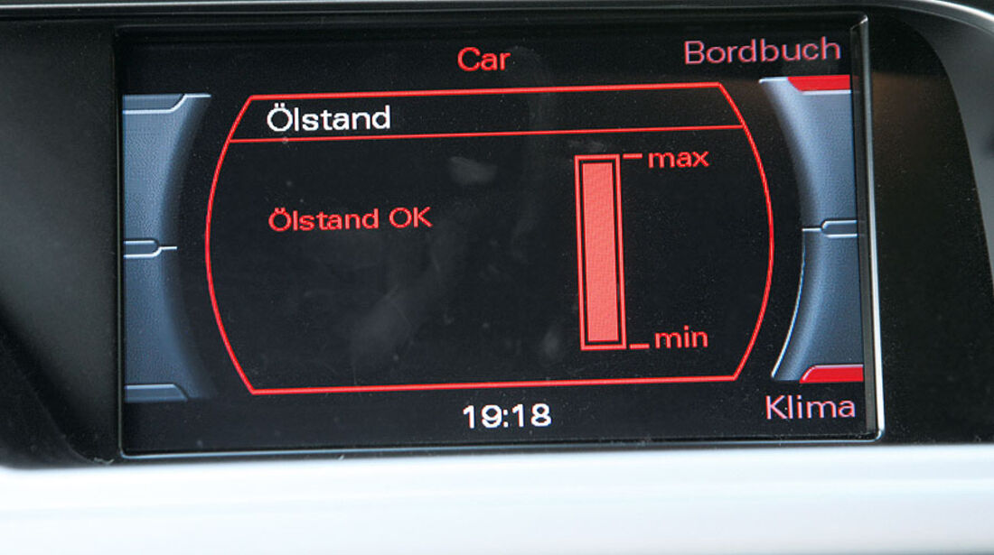 Audi A4 Avant 1.8 TFSI,Bordmenü