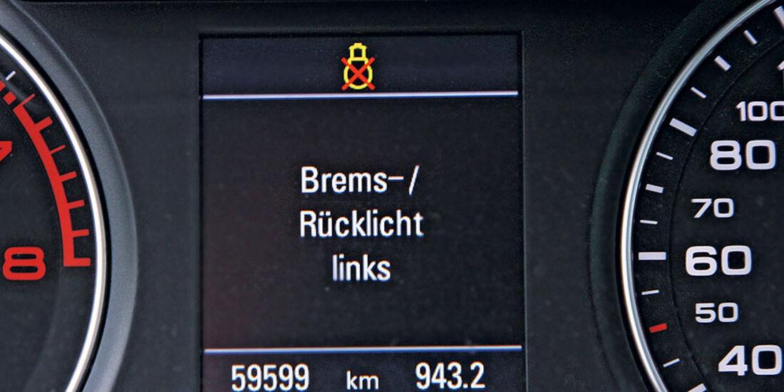 Audi A4 Avant 1.8 TFSI, Cockpitdisplay