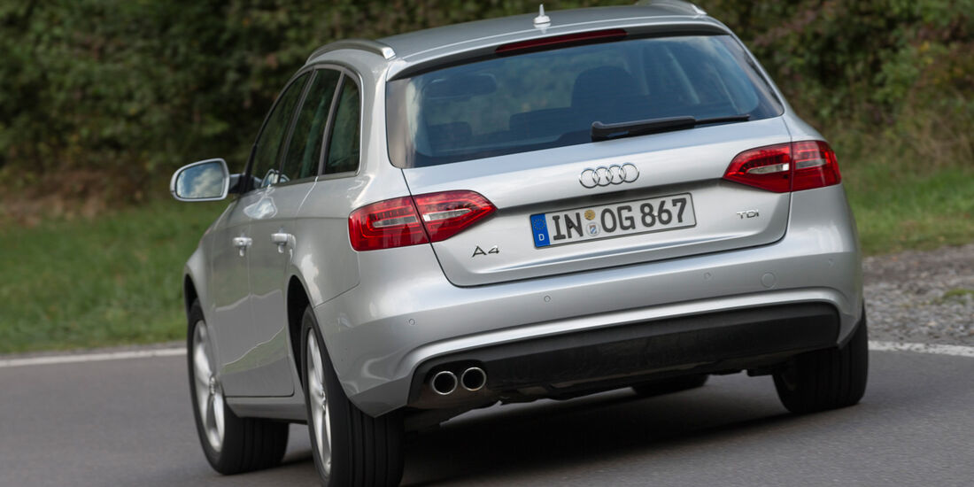 Audi A4 Avant 2.0 TDI Ambition, Heckansicht