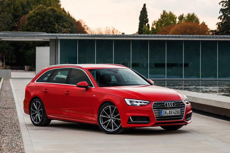 Dienstwagen Kaufberatung Audi A4 Oder A6 Auto Motor Und Sport