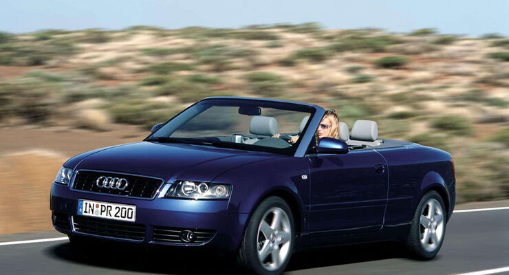 gebrauchtwagen audi a4 cabrio im m ngelreport auto motor. Black Bedroom Furniture Sets. Home Design Ideas