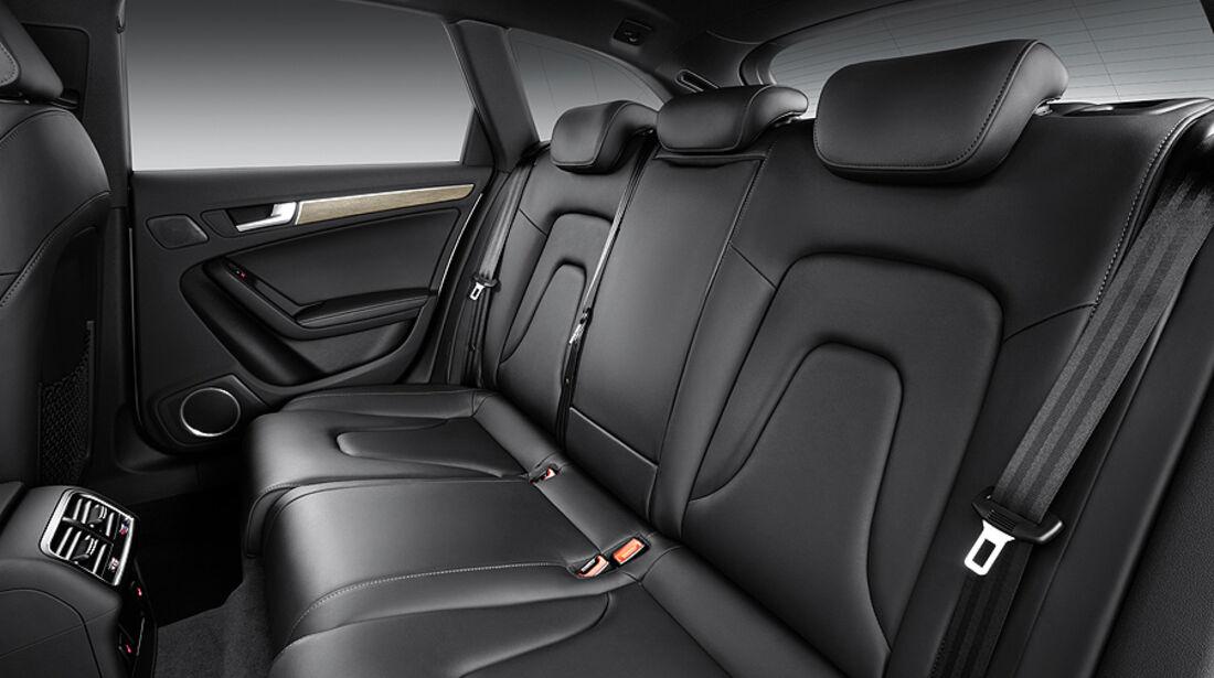 Audi A4, Fond