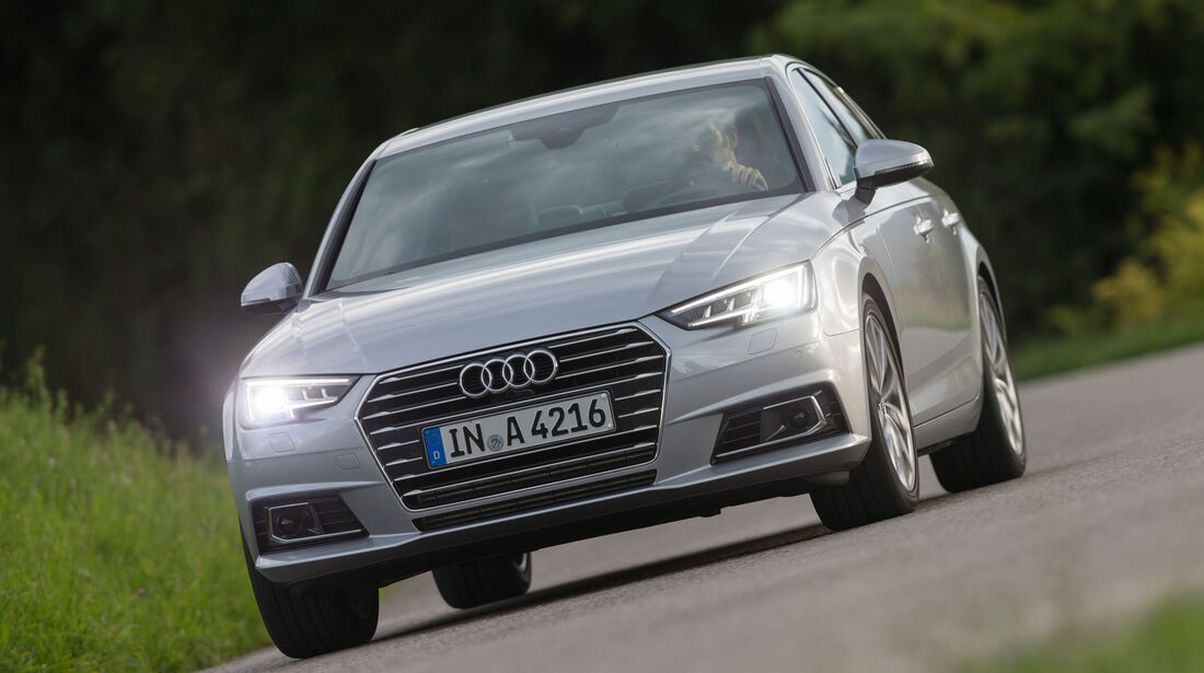 Audi A4, Frontansicht