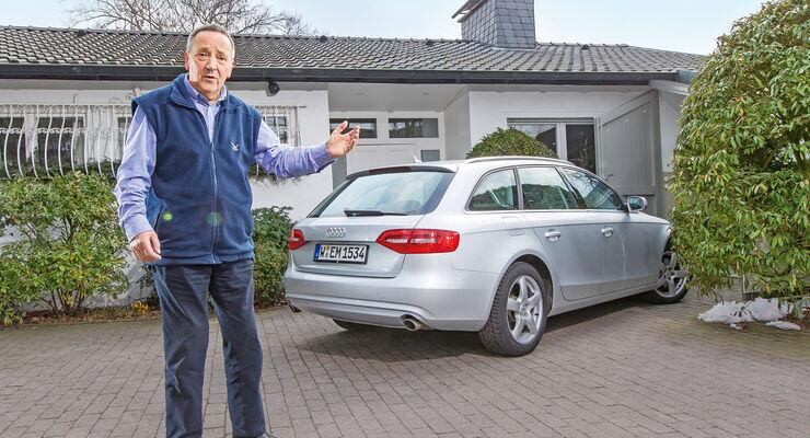 Audi A4, Heckansicht, Heinz Möller