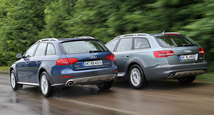 Audi A4 gegen Audi A6
