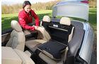 Audi A5 2.0 TFSI Cabrio, Rücksitz, Umklappen