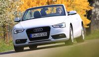 Audi A5 Cabrio 2.0 TDI, Frontansicht