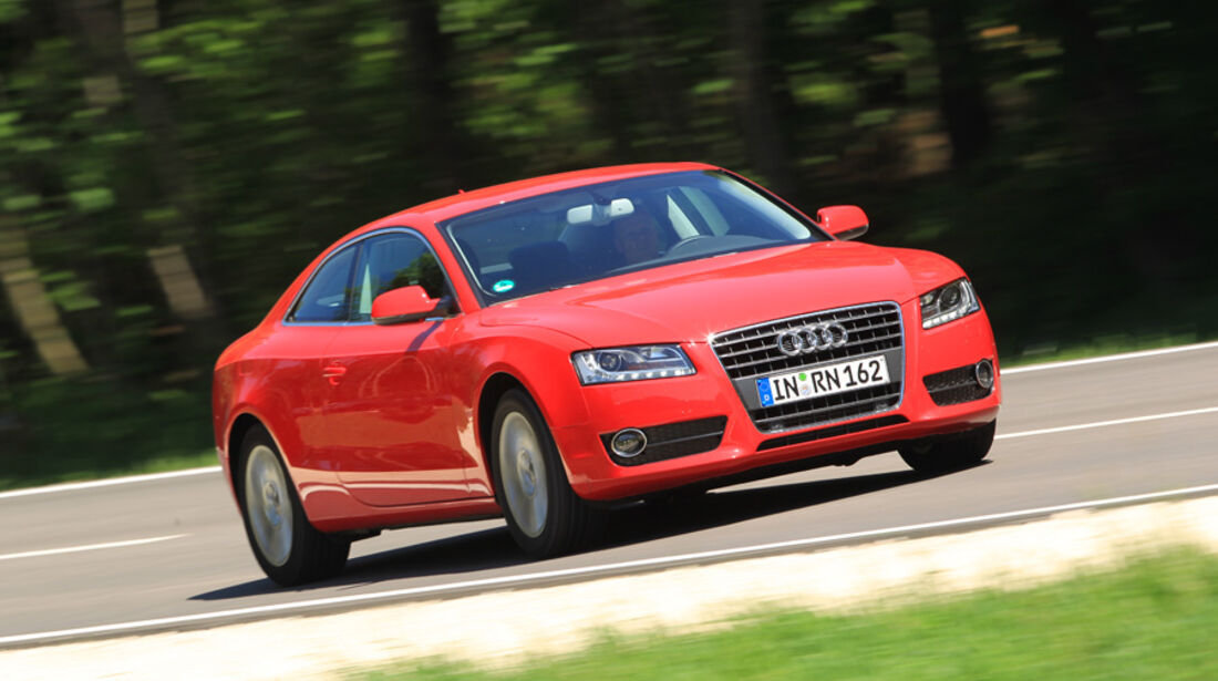 Audi A5 Coupe 1,8T, Front