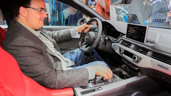 Audi A5 S5 Sportback Sitzprobe Gregor Hebermehl