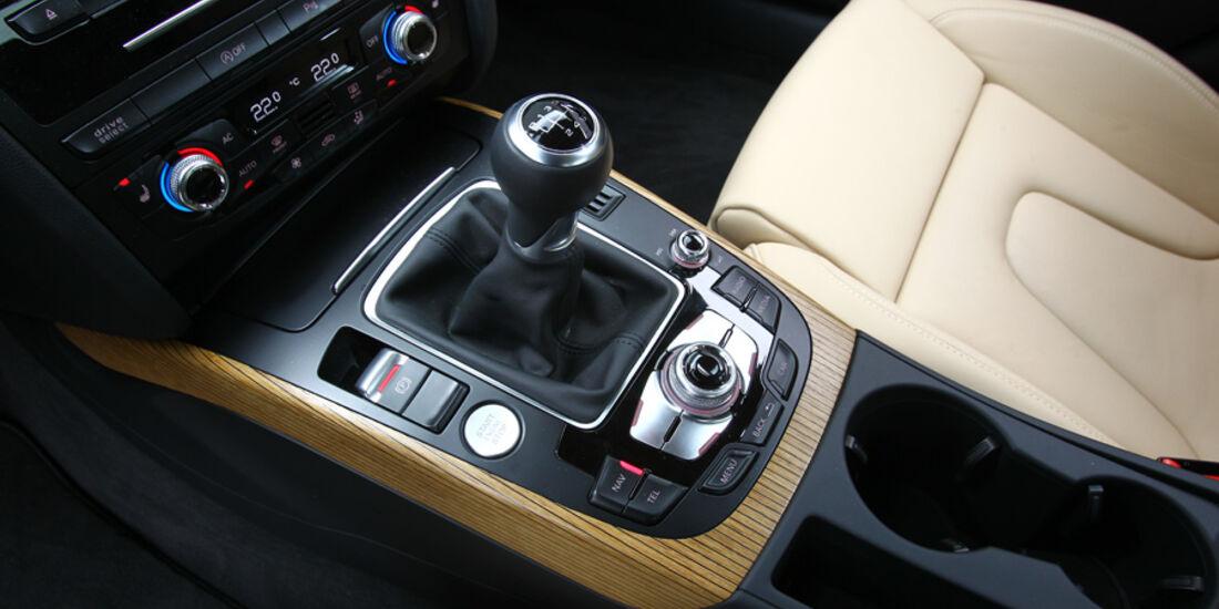 Audi A5 Sportback 1.8 TFSI, Mittelkonsole