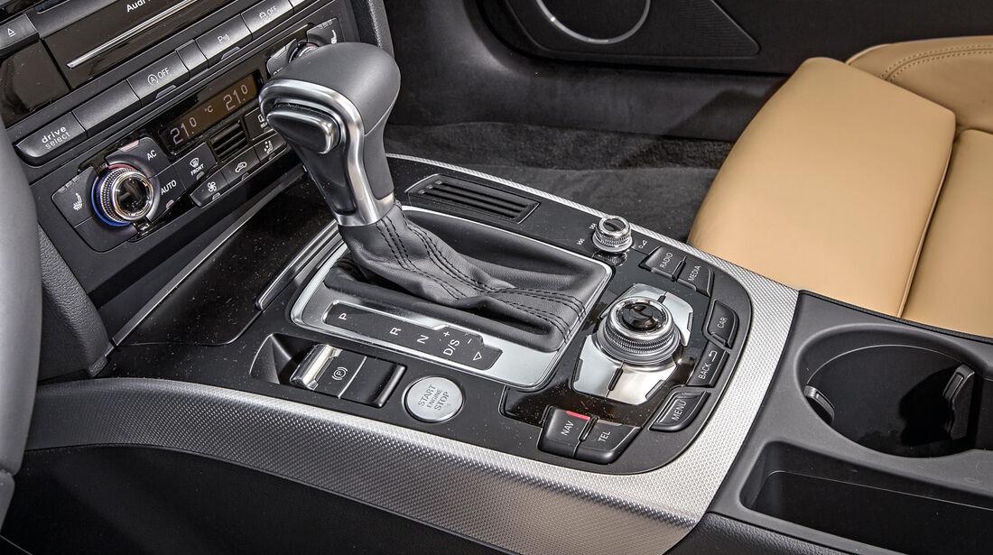 Audi A5 Sportback 3.0 TFSI, Schalthebel