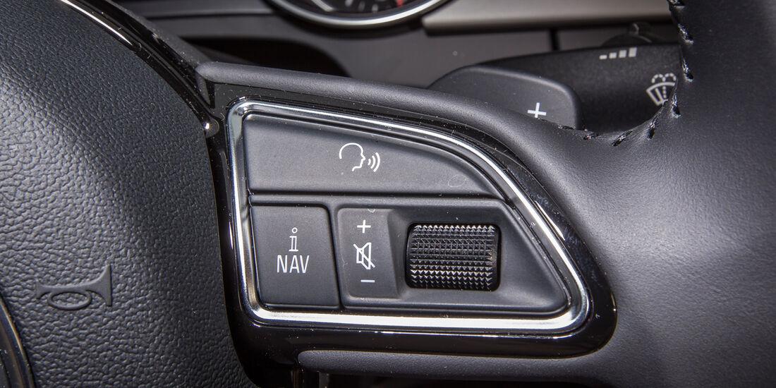 Audi A5 Sportback 3.0 TFSI, Sitzeinstellung