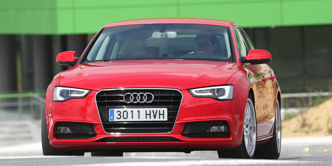 Audi A5 Sportback, Frontansicht