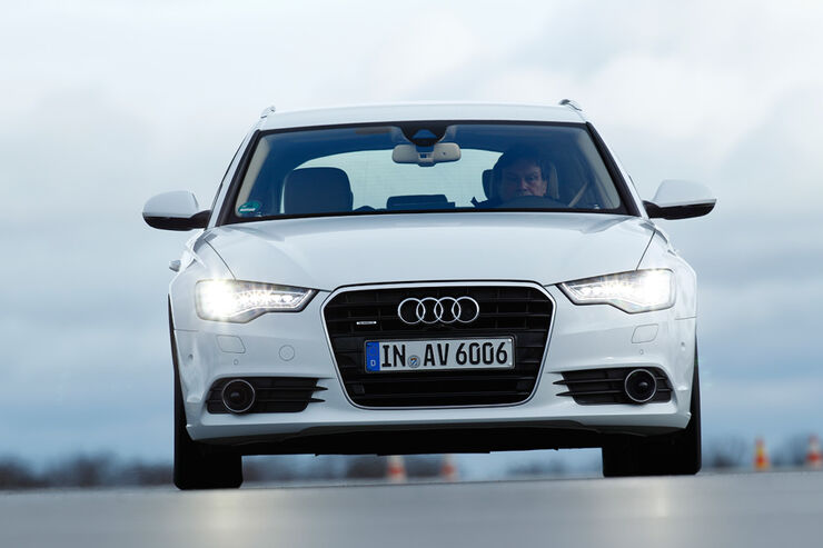 Audi A6 3.0 TD, Front