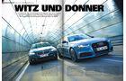 Audi A6 3.0 TDI Quattro Competition - BMW 535d - Diesel - sport auto 7/2016 - Screenshot