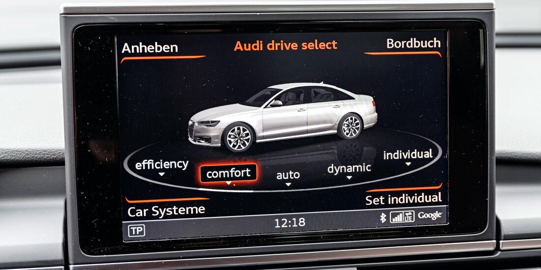 Audi A6 3.0 TDI Quattro, Monitor, Infotainment