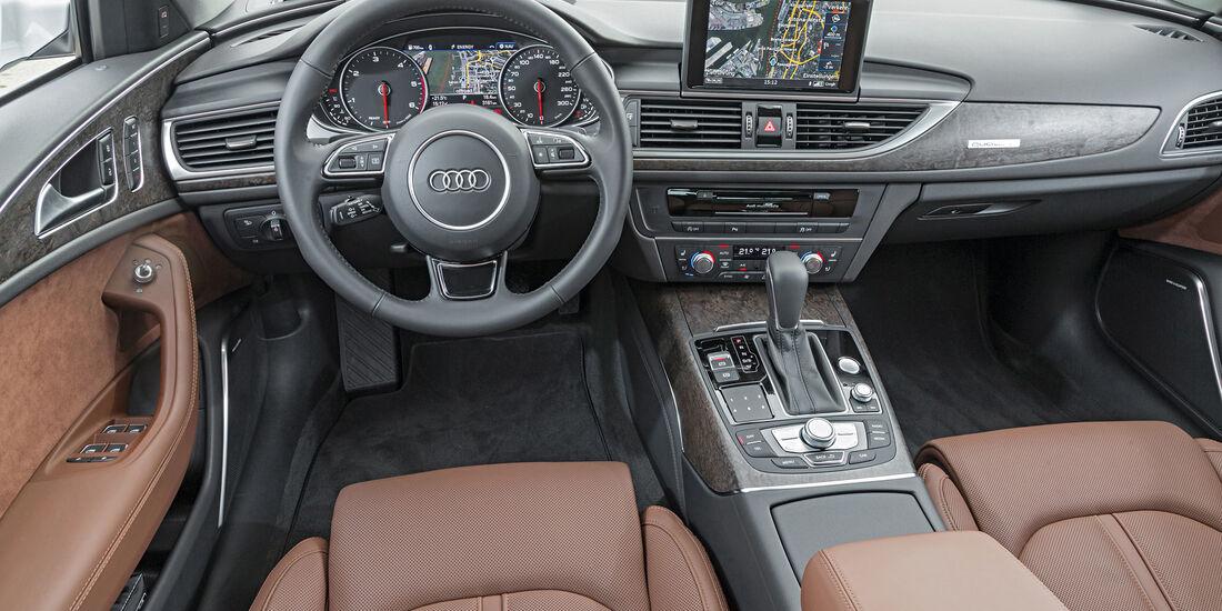Audi A6 Avant 2.0 TDI, Cockpit