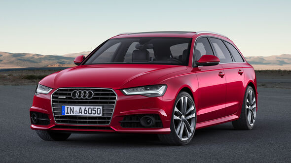 Audi A6 Avant 2.0 TDI, Frontansicht