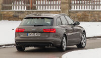 Audi A6 Avant 3.0 TDI Quattro, Heckansicht