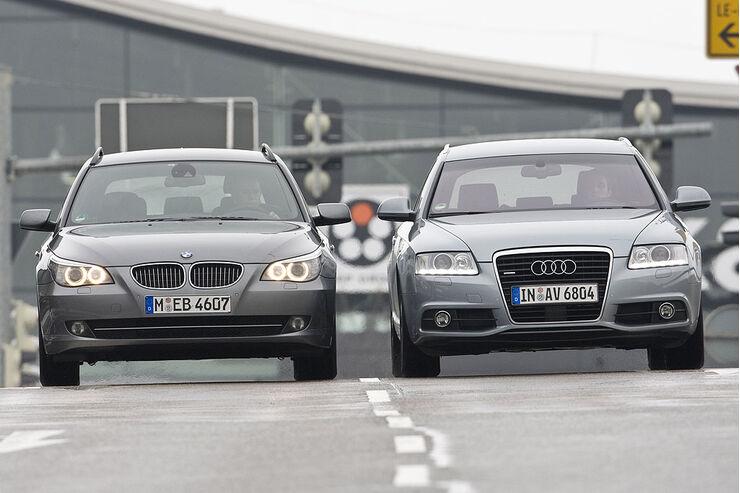 Audi A6 Avant 3,0 TFSI vs. BMW 530i Touring
